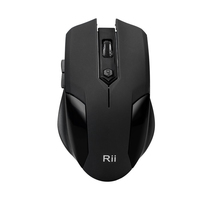 Rii RK200 Wireless Keyboard and Mouse Combo 2.4GHz, Full Size Compact Keyboard & Mouse