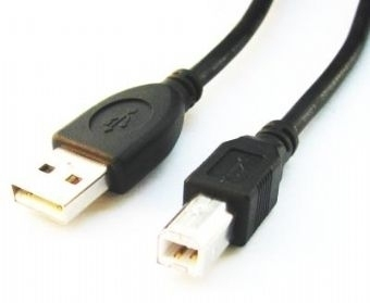 Gembird USB 2.0 Cable , USB A - USB B , 1,8m , *USBAM, *USBBM