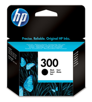 Hewlett packard 300 inktcartridge zwart standard capacity 4ml 200 pagina s met vivera inkt