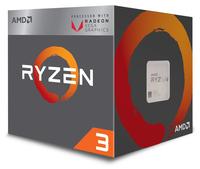 AMD Ryzen 3 2200G, 3,5/3,7GHz, 4/4 C/T, Vega8, AM4, Wraith Stealth Koeler, 65 Watt