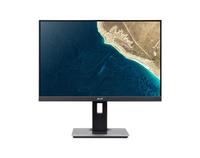 Acer B247Ybmiprx, 23.8i IPS LED, ZeroFrame- 4ms, 100M:1 ACM, 250nits, VGA HDMIDP - MM Audio out, Hoogte verstelbaar, Pivot- EURO/UK EMEA TCO - Black - EcoDisplay
