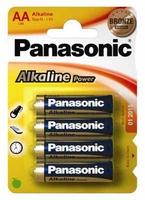 Panasonic Batterij Alkaline Power -AA Mignon 4St.