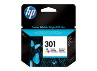 Hewlett packard 301 inktcartridge drie kleuren standard capacity 3ml 165 pagina s 1-pack