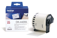 Brother p-touch dk-44205 removable white thermal paper 62mm x 30.48m