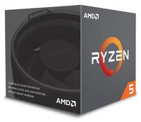 AMD Ryzen 5 2600, 3,4/3,9GHz, 6/12 C/T, AM4, Wraith Stealth Koeler, 65 Watt, no Graphics