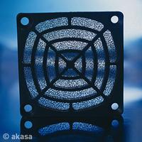Akasa 6cm Washable Fan Filter, black