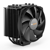 be quiet! Dark Rock 4, 200W TDP, Intel: 1200/115X/1366/2011(-3)/2066 AMD: AM2 (+) / AM3 (+) / AM4 / FM1 / FM2(+), 135 mm Fan