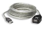 Manhattan Active USB 2.0 Extension Cable , USB A - USB A Female , 5m , *USBAM, *USBAF