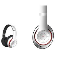 Freestyle FH0916W Bluetooth Headset (BT 5.0, microSD slot, Line-in, FM radio) met microfoon en USB laadkabel, 100u stdby/8u play) 150gram - Wit