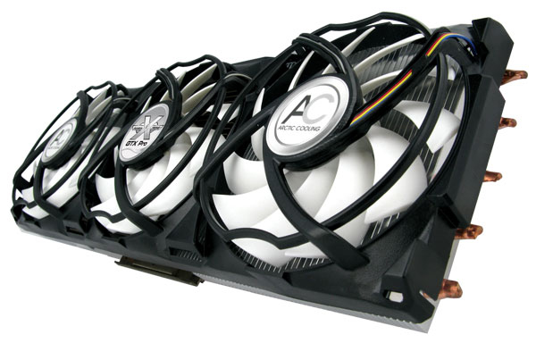 Arctic Cooling VGA koeler Accelero Extreme GTX PRO, voor Nvidia Geforce 285,275,260