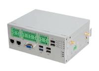 Giada MiniPC barebone AS20-F2-E381530M0G-GIA, Intel Atom E3815, HD Graphics, 1x SODIMM DDR3, 1x SATA III, 1x mSATA, 2x GBLan, DVI