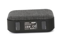OMEGA Bluetooth 4.1 Wireless Speaker with FM Radio / Handsfree / MicroSD / USB / 3W / Light Grey fabric