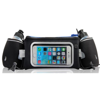 PLATINET WAIST BAG WITH WINDOW AND 2 WATER BOTTLES