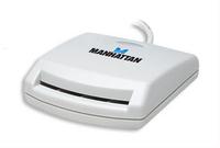 Manhattan Smart Card Reader usb, contact reader, external
