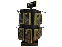 Sandberg Counter Display 4-sided Rotate - instore demo rack