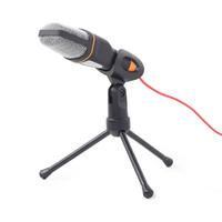 Gembird omni-directionele desktopmicrofoon met mini-tripod en 3,5 mm aansluiting