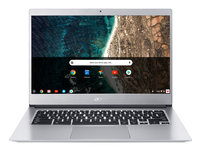 Acer CB514-1HT-C3EG, 14i FHD IPS Multi-touch, Intel Celeron N3450 Quad Core processor, 4GB DDR4, 32GB eMMC, Pure Silver- Chrome OS