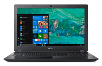 Acer Aspire 3 A315-32-C4Q2, Black, 15.6 inch FHD, Celeron N4000 , 4GB DDR4, 256GB SSD, UHD Graphics 600, HDMI, No ODD, Wi-Fi 5 AC + BT 4.0, 2-cell battery, 0.3MP webcam Win 10 Home