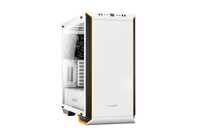 be quiet! Dark Base 700 Window White Edition, 544 x 241 x 519, IO-panel 2x USB 3.0, 1x USB 3.1 C, HD Audio, 7x 3,5, 17x 2,5, inc 2x 140 mm SW3 Fan, Manual fan controller 4 step (6x 4pin), RBG LED front panel (white, red, green, blue, orange, purple).