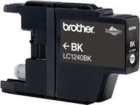 Brother lc-1240 inktcartridge zwart high capacity 600 pagina s 1-pack blister zonder alarm