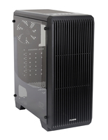 Zalman S2, ATX Mid Tower PC Case / - Pre-installed fan : 120mm black fan in rear / - Air vent on front for efficient cooling / - Acrylic window on left / - Dust filter at bottom & top / - Dimension : 412(D) x 189(W) x 451(H)mm