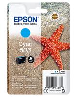 Epson 603 inktcartridge cyaan (origineel)