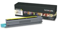 Lexmark x925 toner geel high yield 7.500 pagina s 1-pack