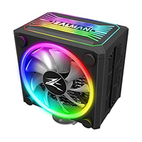 Zalman CNPS16X BLACK, Dedicated spectrum RGB cover and fans / 120mm addressable RGB fans x 2 / Z.SYNC for RGB control / 4 heatpipes / STC8 included / TDP 150, Intel LGA 2066, 2011-V3 115x, 1200, 1366, AMD AM4, AM3+, AM3,