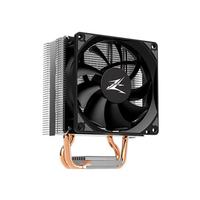 Zalman CNPS4X - TDP 95W / - 92mm PWM fan / - High performance 2 heatpipes applied / - Max Airflow 44CBM / - STG2M included, Intel LGA 115x, 1200, AMD AM4, AM3+, AM3, FM2+, FM2
