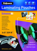 Fellowes lamineerhoes thermisch a4 25 sheets 80mic