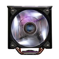 Zalman CNPS10X OPTIMAII BLACK, 120mm White LED PWM Fan / - RGB Spectrum light effects / - DTH(Direct Touch Heat-pipe) base / - Hydraulic Bearing / - 1,350 -2,100RPM(plm10%) uPWM / - 18 -28.0dBA(plm10%)