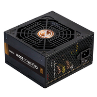Zalman ZM550-GVII, GIGAMAX 550W ATX Power Standard / 80+ Bronze efficiency (Max 87%) / OVP / OPP / SCP / UVP / Black Flat Cables / DC-DC electronic schematics / 0.7W ~ 0.8W Standby power / 120mm FDB Fan