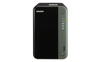 QNAP TS-253D-4G - NAS-server - 2 bays - SATA 6Gb/s - 4 GB: 1x 4 GB RAM - DDR4 - 2x 2.5Gb Ethernet