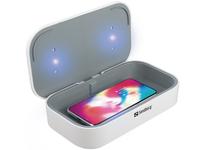 Sandberg UV Sterilizer Wireless 10W USB, ontsmetten met UV, groot model voor oa telefoon en bril, voeding via USB