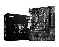 MSI H410M PRO mATX M.2 Port, PCIe 3.0 x 4, NVMe PCI:1 PCIe:1, 2 x DDR4