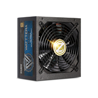 Zalman ZM800-EBTII WATTTERA, 800 Watt 80 PLUS GOLD PSU, EU, Full Modular, Active PFC with 99.9% Max. power factor, High performance Japanese capacitor, 12V Single Rail (99.43%), Aluminum solid capacitor, DC to DC converter