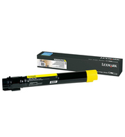 Lexmark x950, x952, x954 tonercartridge geel extra high capacity