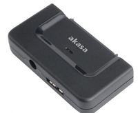 Akasa Flexstor Disklink, USB3.0 adaptercable for SATA HDD and SSD inc powersupply ***, *SATAM, *USBAM